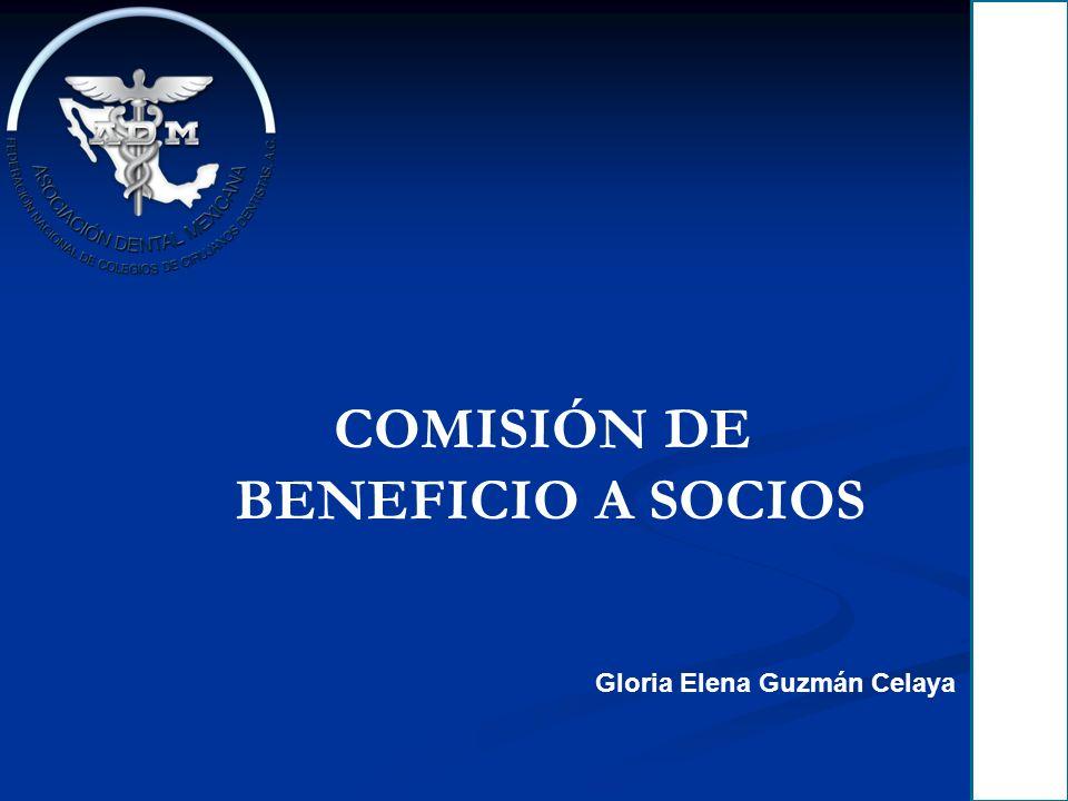COMISIÓN DE BENEFICIO A SOCIOS