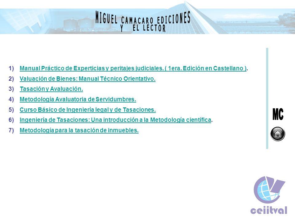 MIGUEL CAMACARO EDICIONES