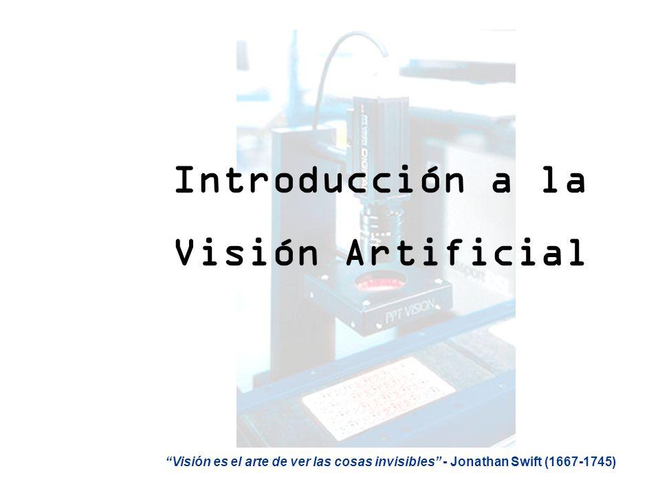 Introducción a la Visión Artificial