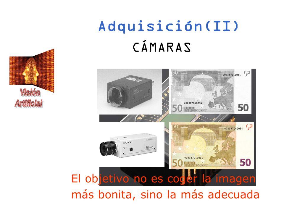 Adquisición(II) CÁMARAS