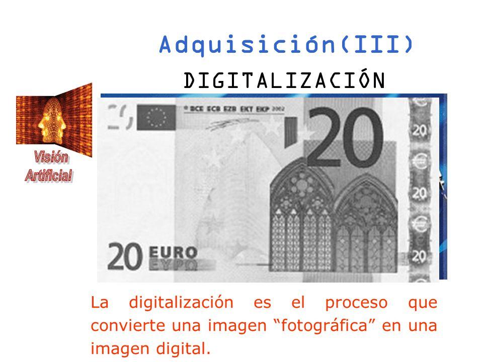 Adquisición(III) DIGITALIZACIÓN