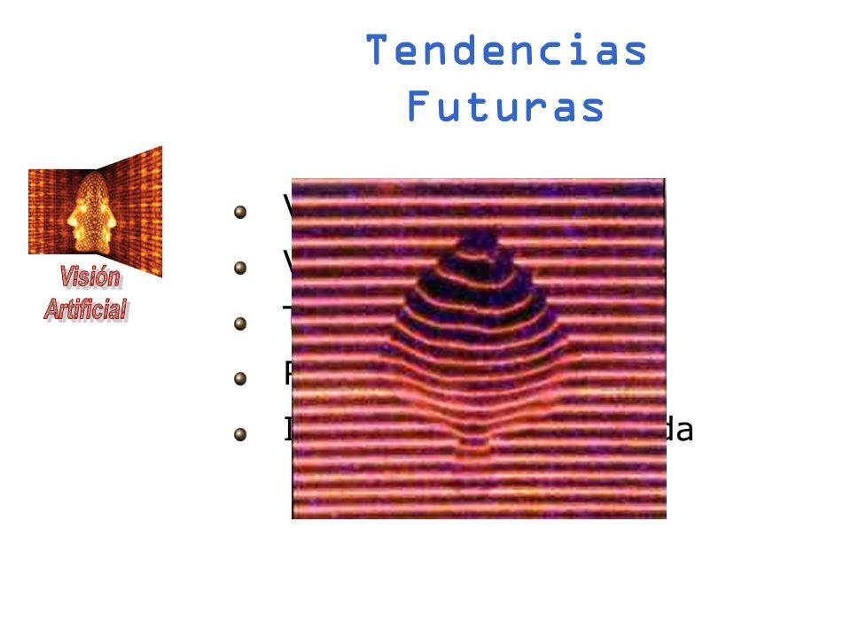 Tendencias Futuras Visión estéreo 3D Visión activa Telemetría