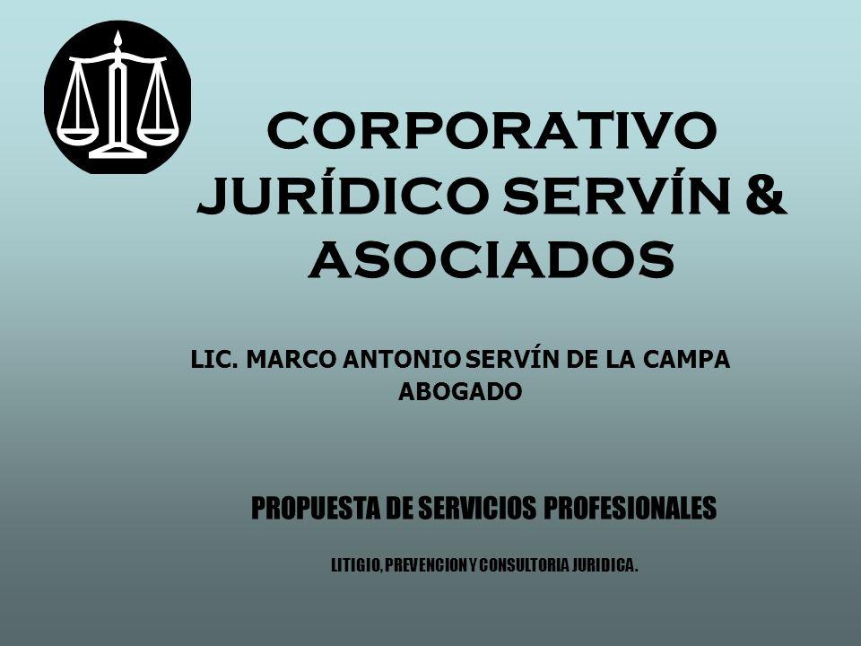 CORPORATIVO JURÍDICO SERVÍN & ASOCIADOS