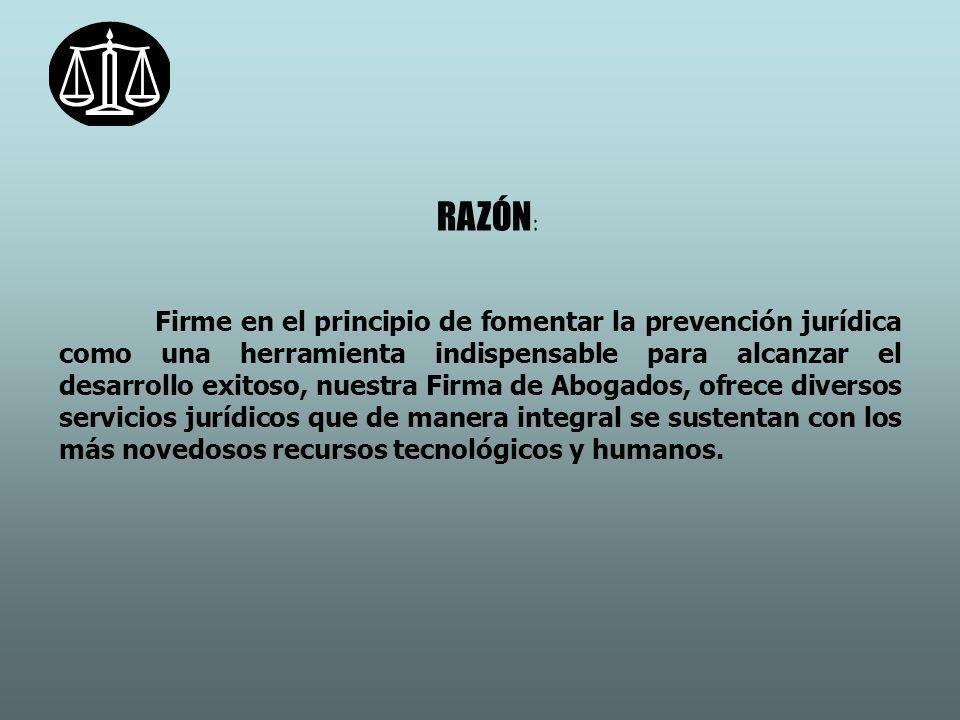 RAZÓN: