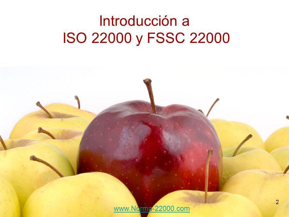 Introducción a ISO 22000 y FSSC 22000