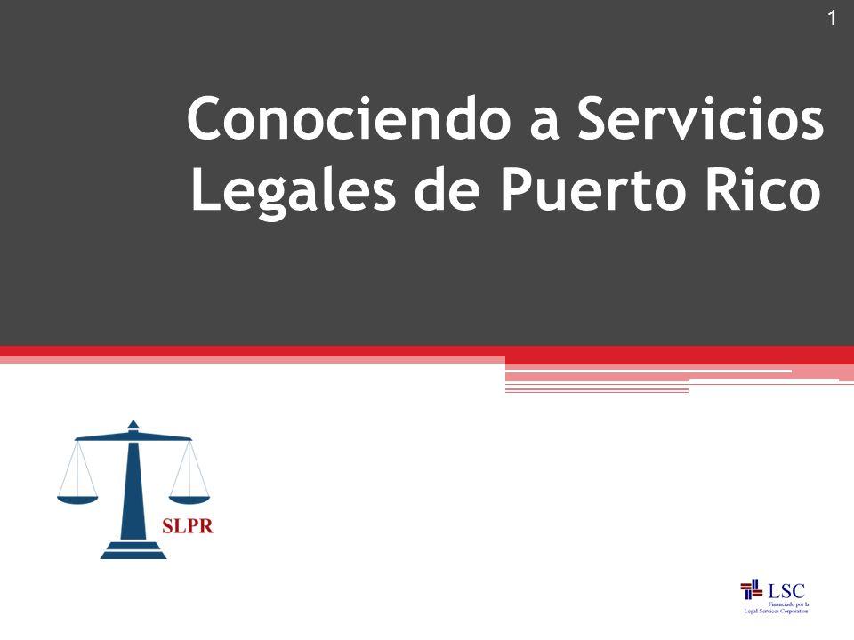 Conociendo a Servicios Legales de Puerto Rico