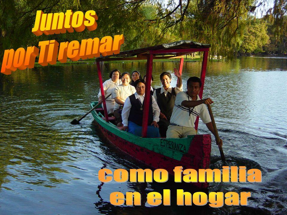 Juntos por Ti remar como familia en el hogar