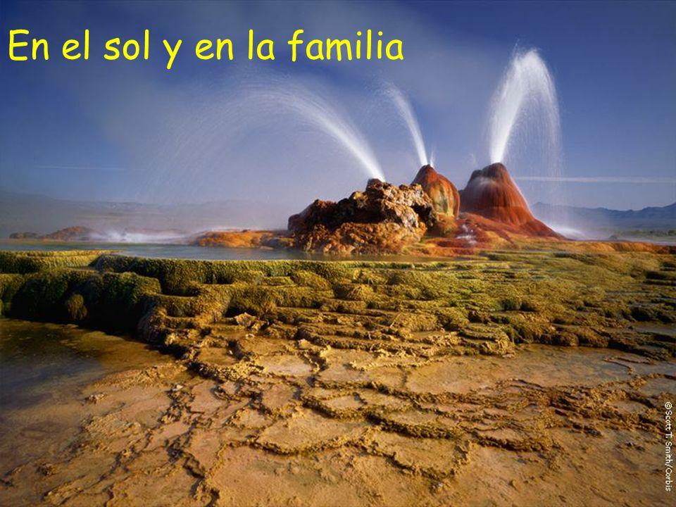 En el sol y en la familia