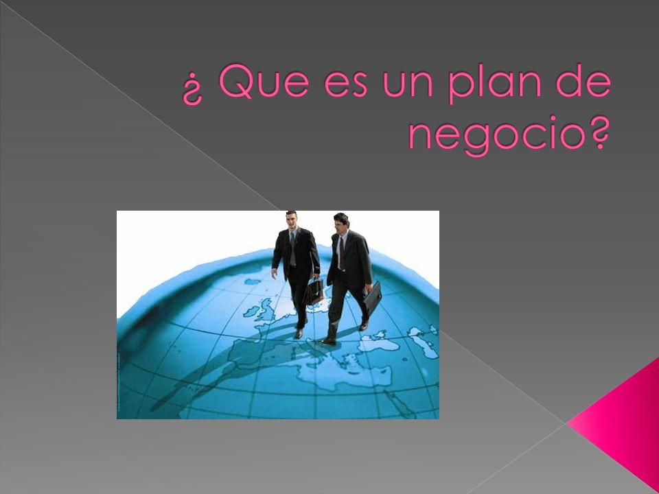 ¿ Que es un plan de negocio