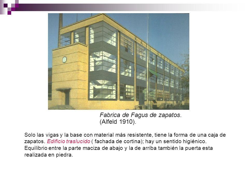Fabrica de Fagus de zapatos. (Alfeld 1910).