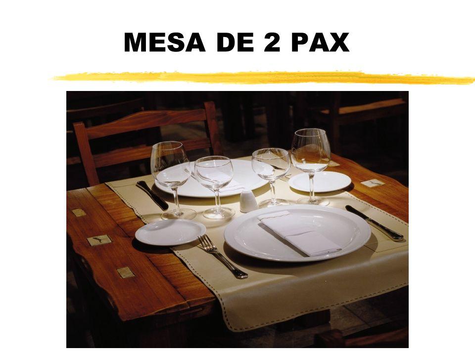 MESA DE 2 PAX
