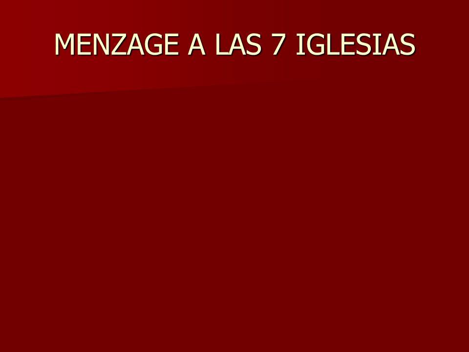 MENZAGE A LAS 7 IGLESIAS