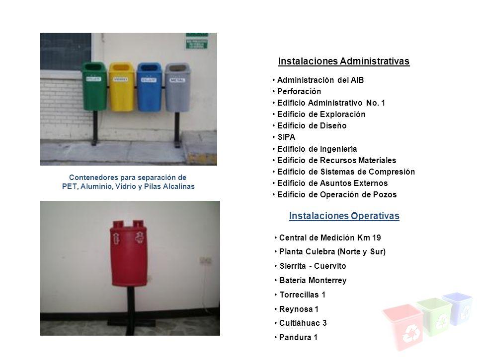 Instalaciones Administrativas Instalaciones Operativas