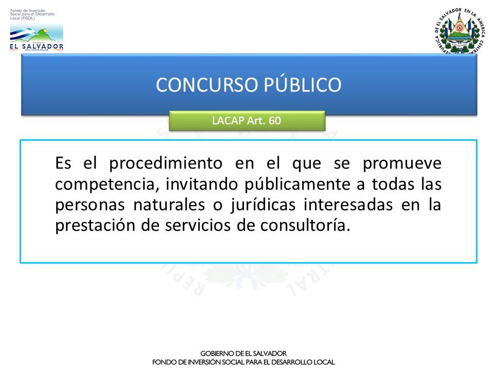 CONCURSO PÚBLICOLACAP Art. 60.