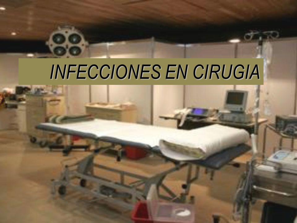 INFECCIONES EN CIRUGIA
