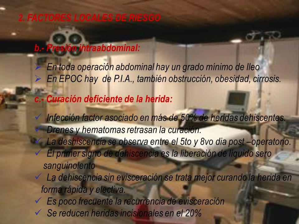 2. FACTORES LOCALES DE RIESGO