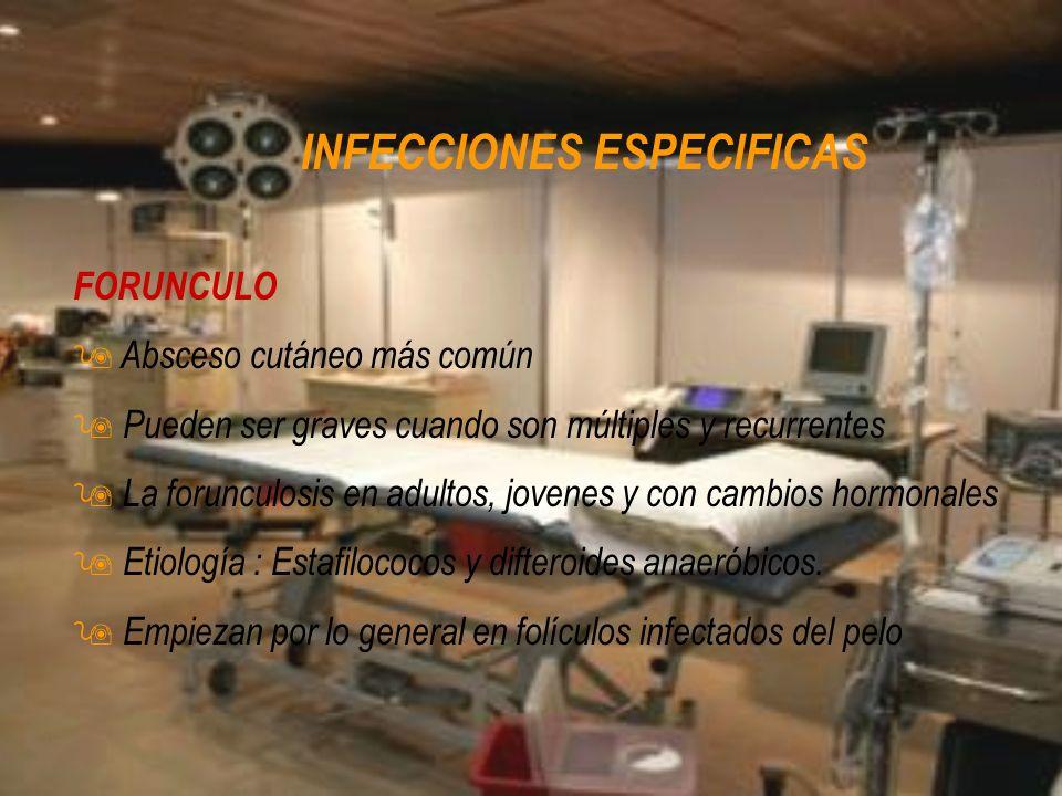 INFECCIONES ESPECIFICAS