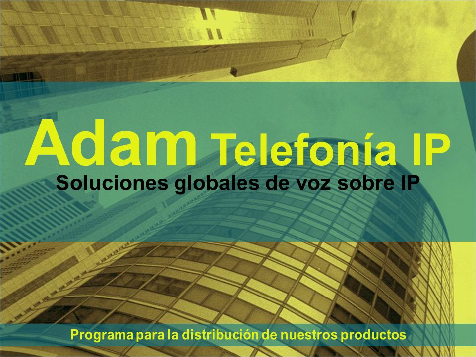 Soluciones globales de voz sobre IP