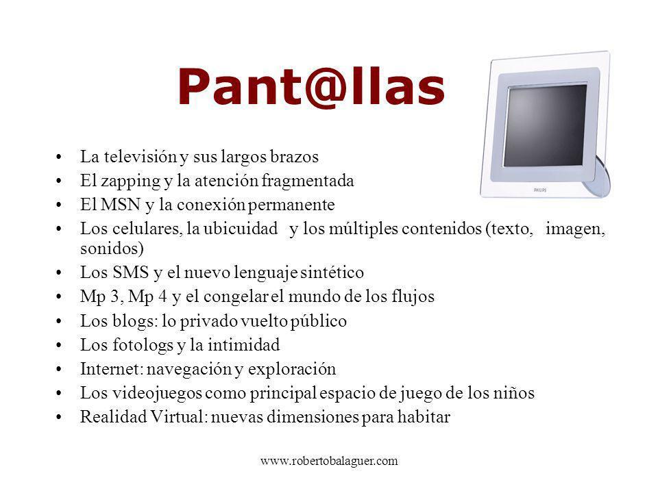 Pant@llas La televisión y sus largos brazos