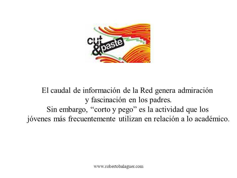 El caudal de información de la Red genera admiración