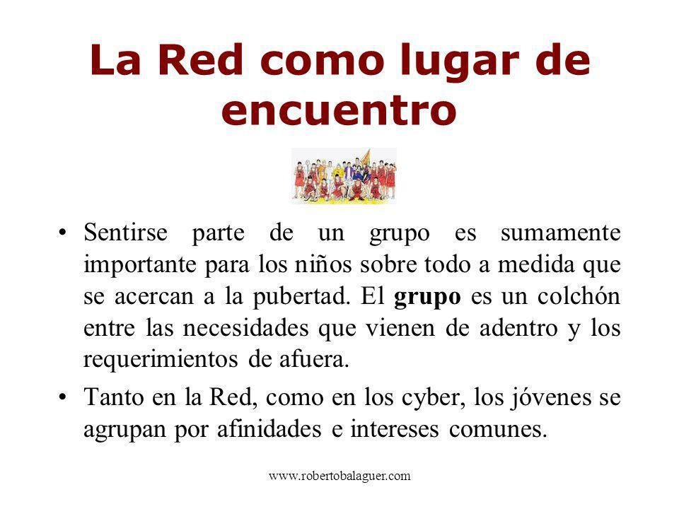 La Red como lugar de encuentro