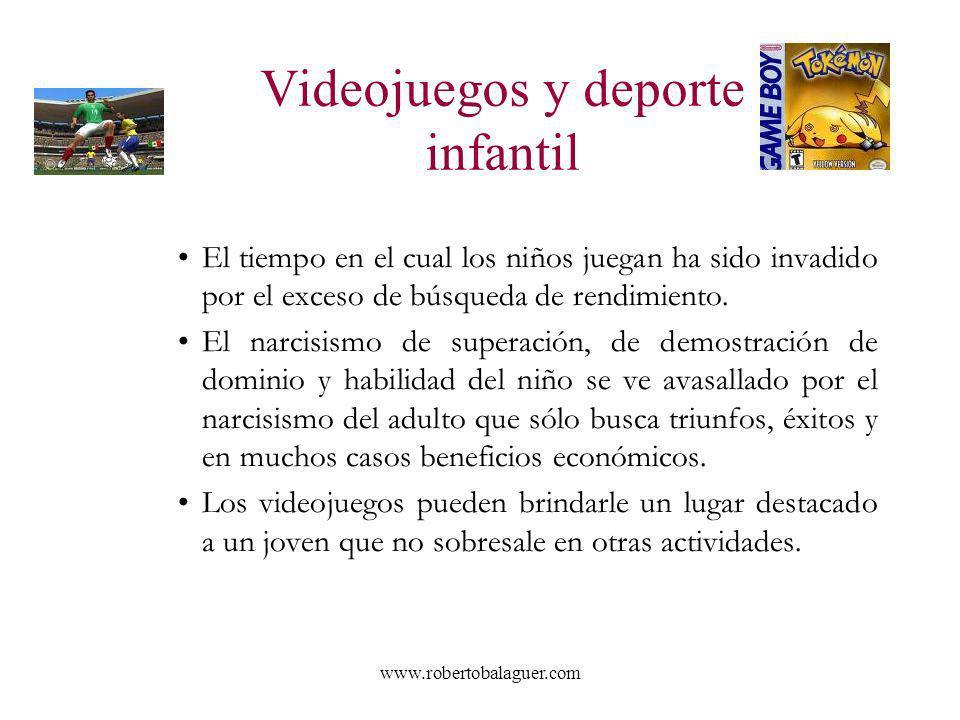 Videojuegos y deporte infantil