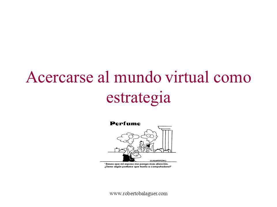 Acercarse al mundo virtual como estrategia