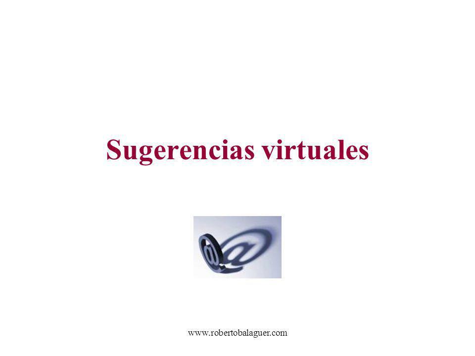 Sugerencias virtuales