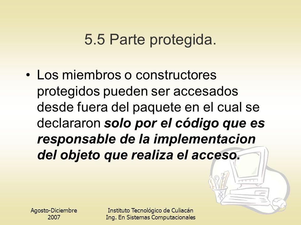 5.5 Parte protegida.