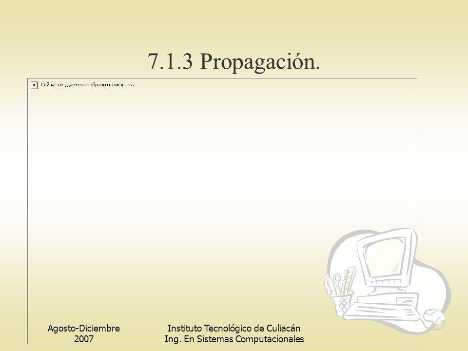 7.1.3 Propagación. Agosto-Diciembre 2007