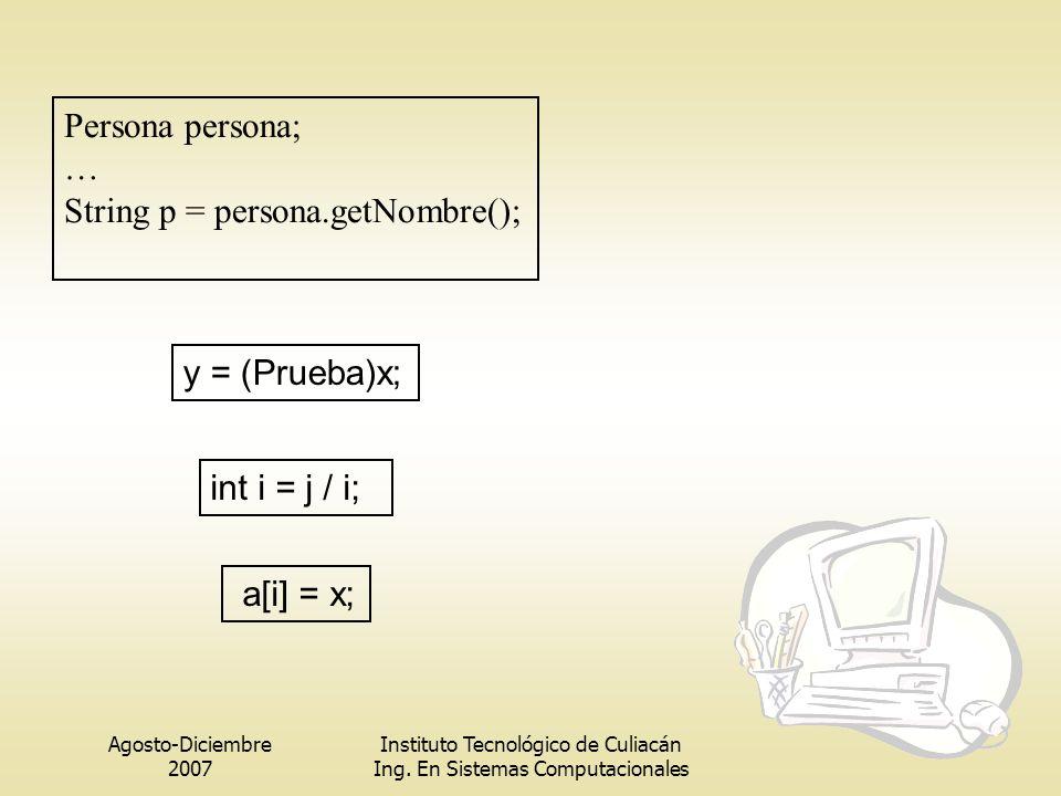 String p = persona.getNombre();