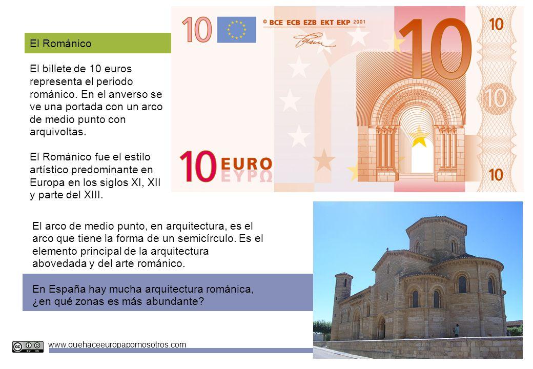 En España hay mucha arquitectura románica,