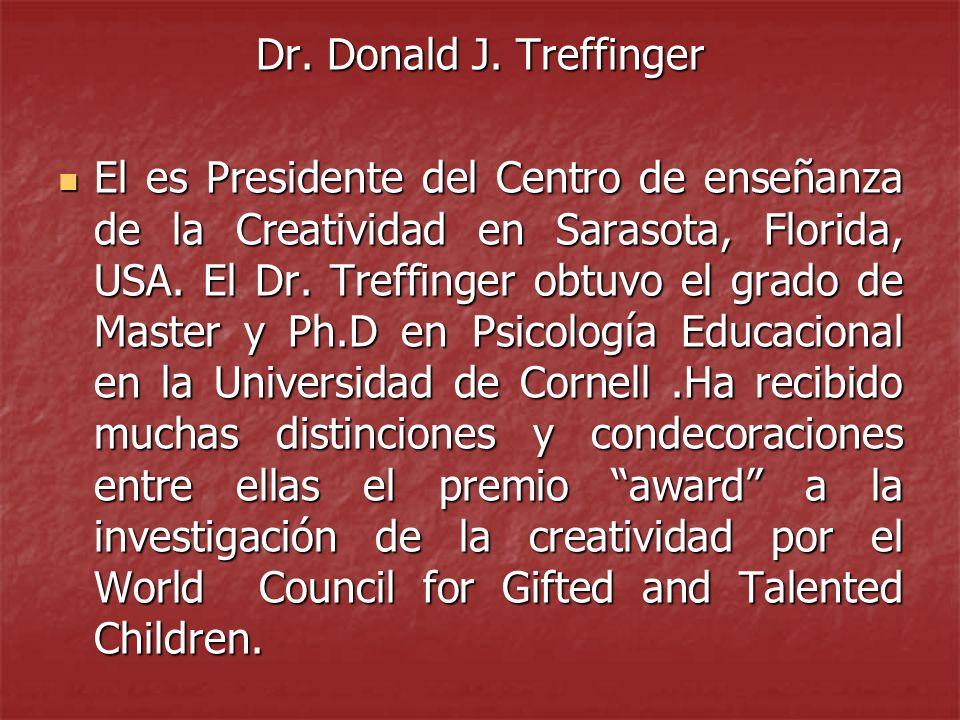 Dr. Donald J. Treffinger