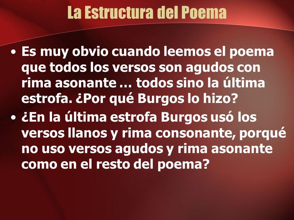La Estructura del Poema