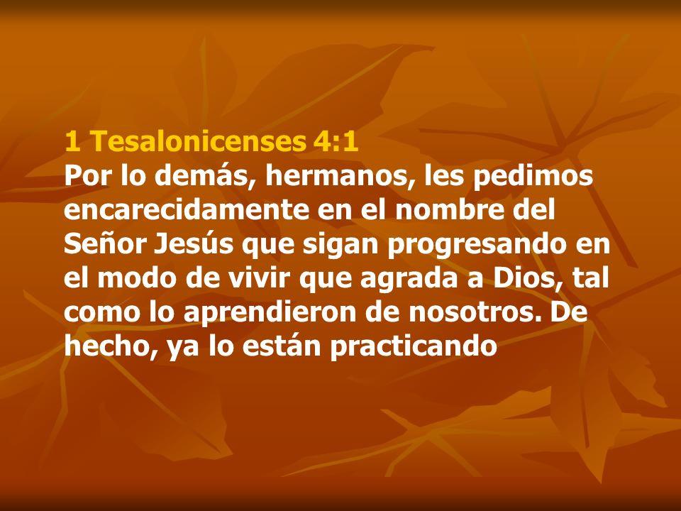 1 Tesalonicenses 4:1