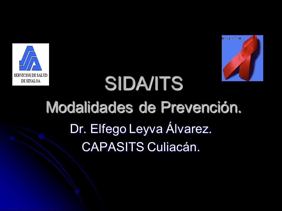 SIDA/ITS Modalidades de Prevención.