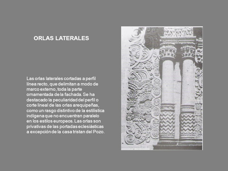 ORLAS LATERALES