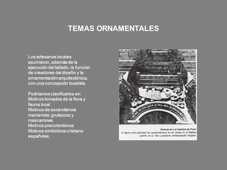 TEMAS ORNAMENTALES
