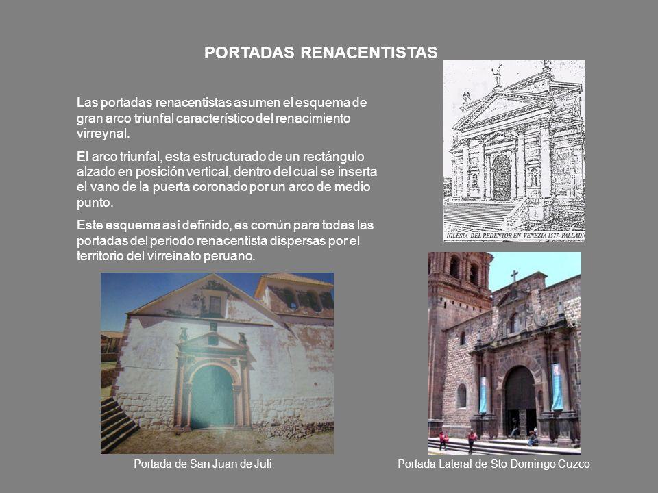 PORTADAS RENACENTISTAS