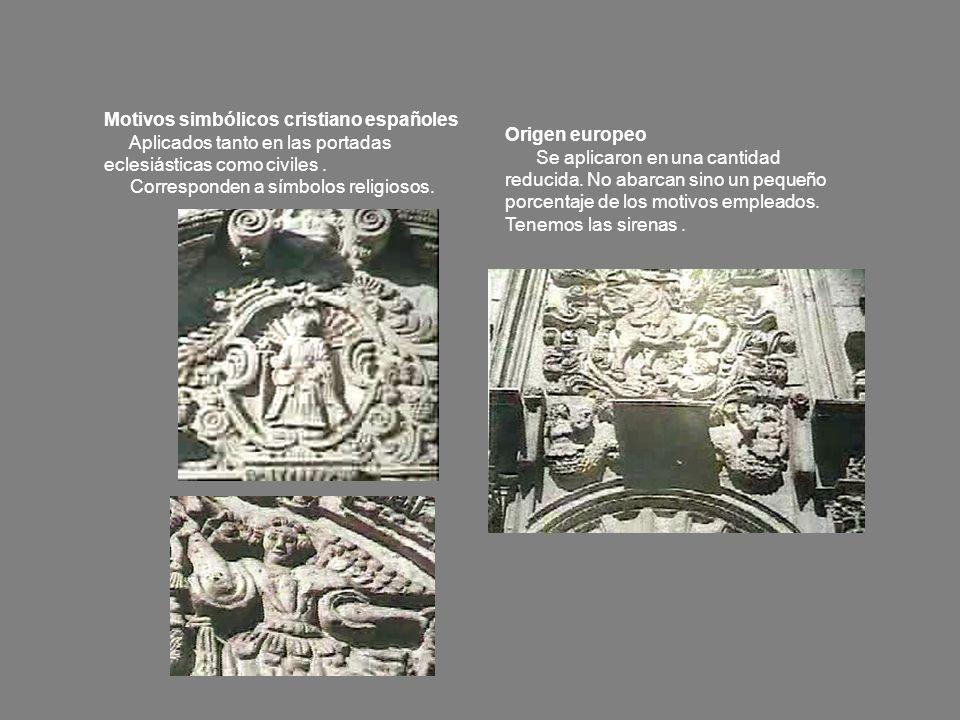 Motivos simbólicos cristiano españoles