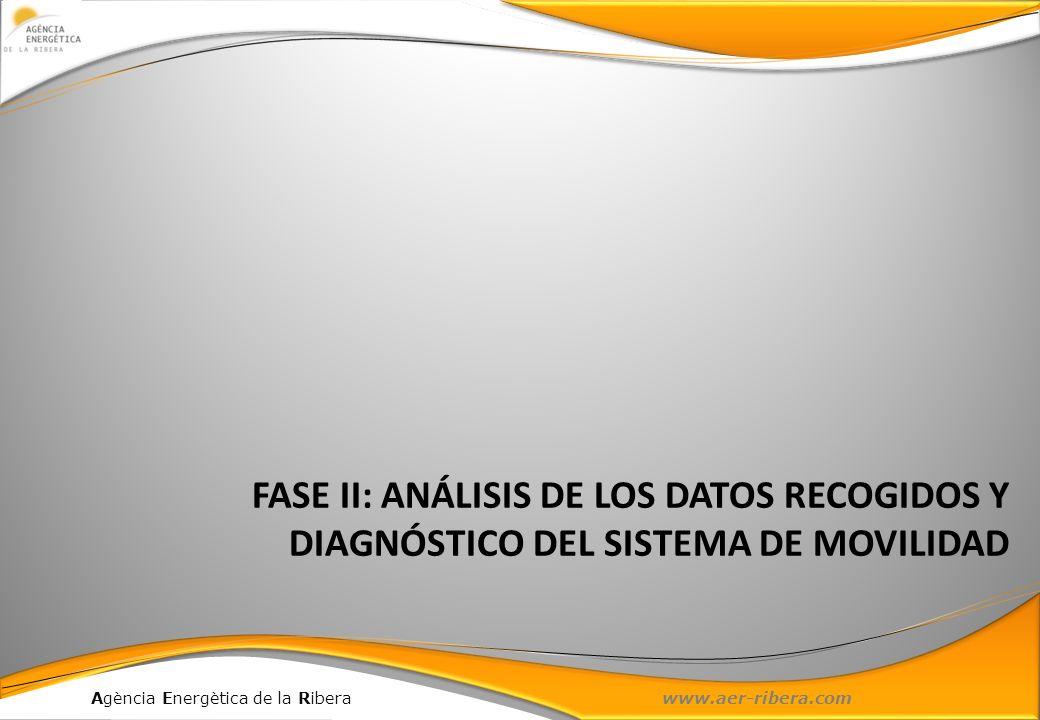 FASE II: ANÁLISIS DE LOS DATOS RECOGIDOS Y DIAGNÓSTICO DEL SISTEMA DE MOVILIDAD