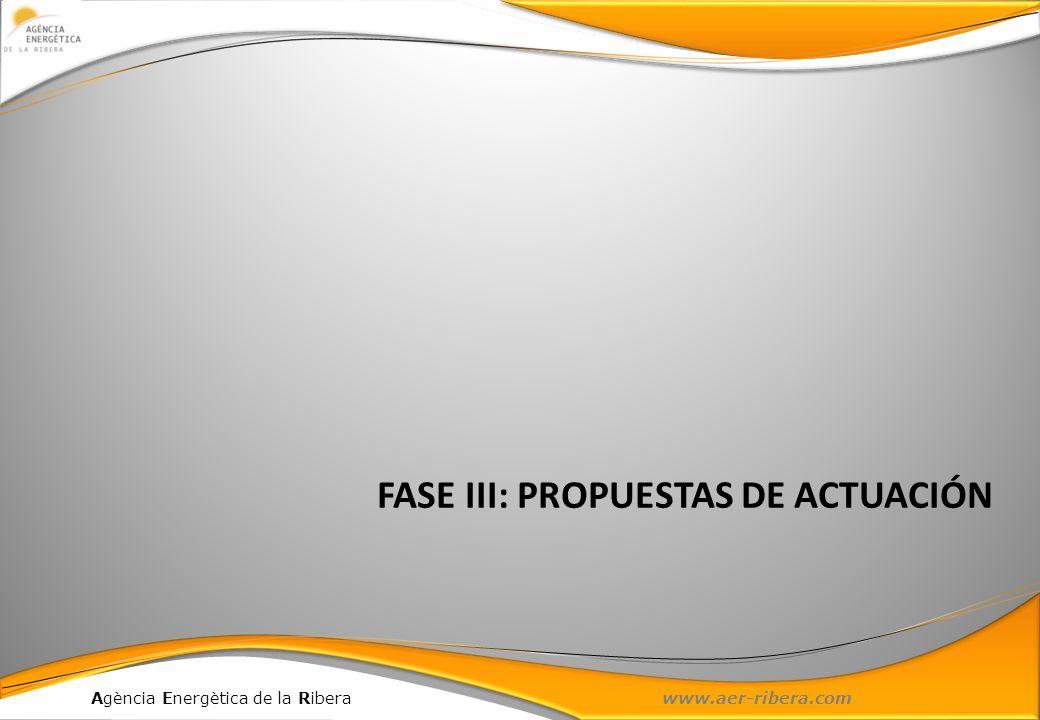 FASE III: PROPUESTAS DE ACTUACIÓN