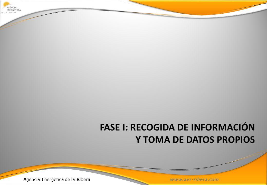 FASE I: RECOGIDA DE INFORMACIÓN Y TOMA DE DATOS PROPIOS