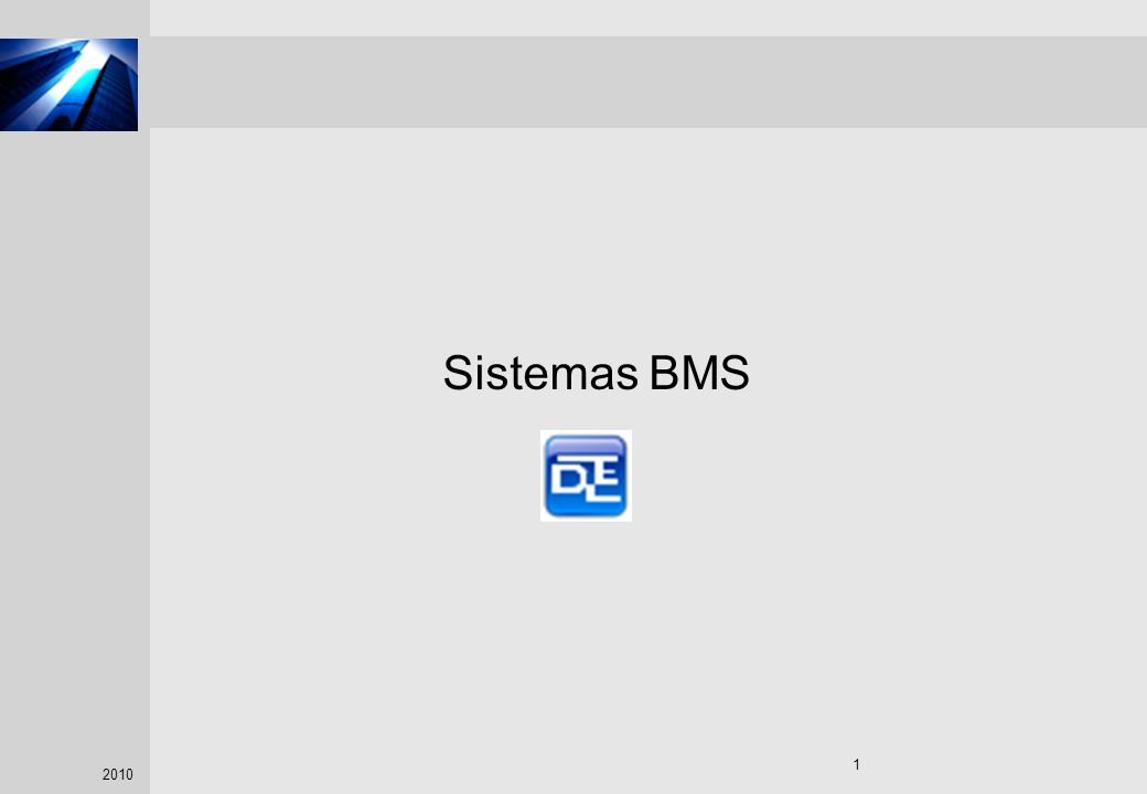 Sistemas BMS Course participant: