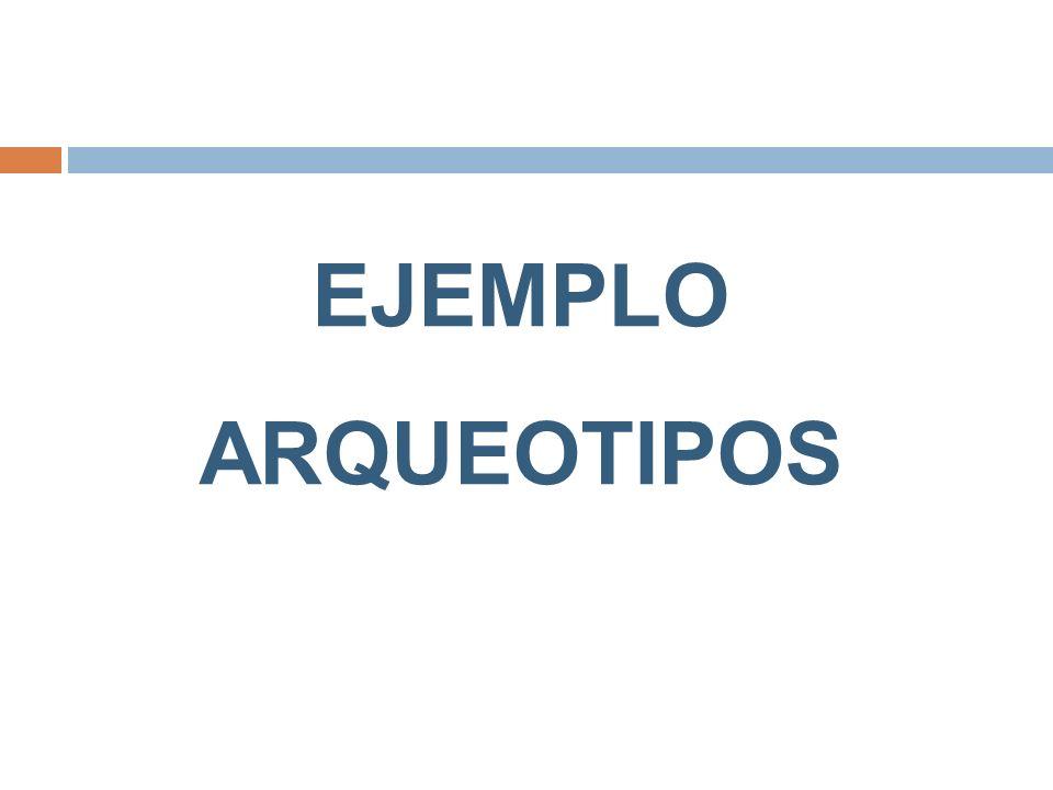 EJEMPLO ARQUEOTIPOS