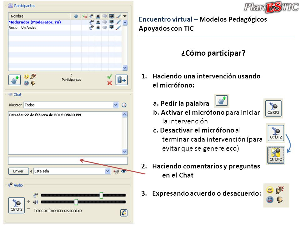 Encuentro virtual – Modelos Pedagógicos Apoyados con TIC