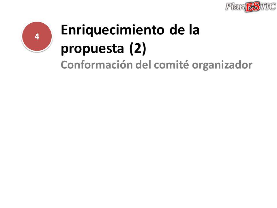 Enriquecimiento de la propuesta (2)