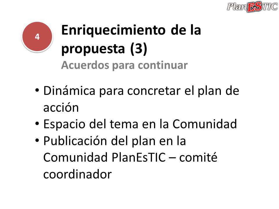 Enriquecimiento de la propuesta (3)