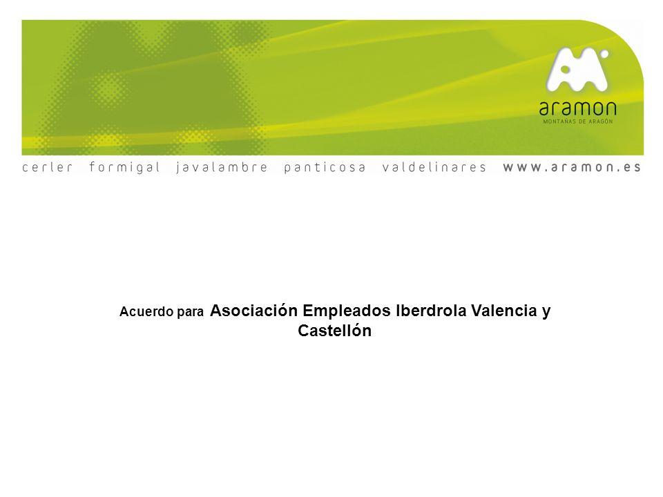 Acuerdo para Asociación Empleados Iberdrola Valencia y Castellón