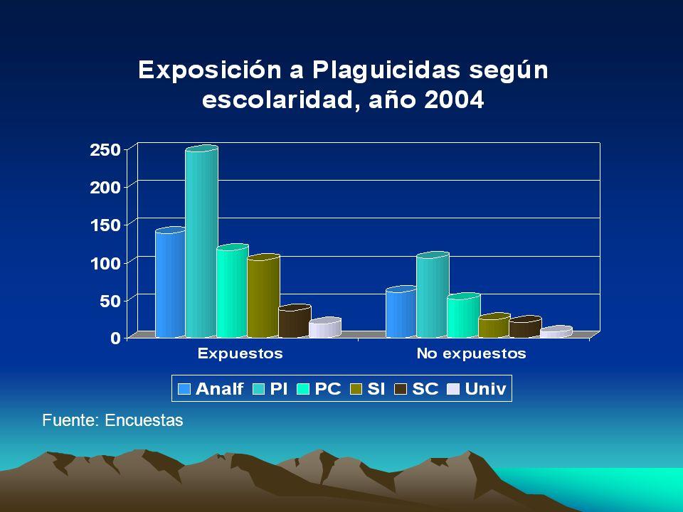 Fuente: Encuestas